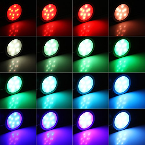 Chic Albrillo LED Under Cabinet Lighting With Remote, Color Changing Puck  Lights, 4 Set