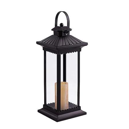 Lámpara de pie para salón Patio Exterior Villa Lámpara de Viento Jardín Lámpara de Calle LED Paisaje Lámpara de pie Lámpara de césped Lámparas de pie (tamaño : M): Amazon.es: Hogar