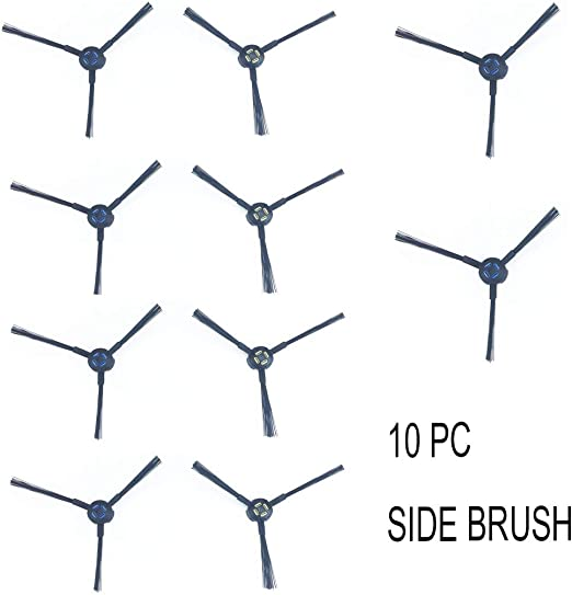 10 Pcs Side Brushes For  Ilife V8s//v8 Plus A9s A7Vacuum Cleaner Spare Parts AU