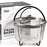 Primica 6 Quart Steamer Basket Accessories Compatible with the Instant Pot Pressure Cooker - Easily One of the Most Durable Instant Pot Accessories