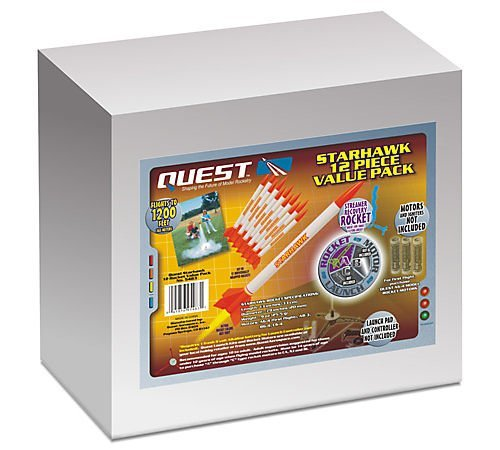 Quest Aerospace Starhawk Model Rocket Value Pack (12)