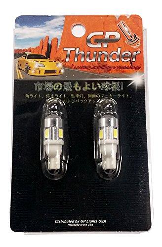 GP Thunder 194 168 921 T10 T15 2825 W5W Cree SMD LED White Wedge Backup Reverse Light Bulbs