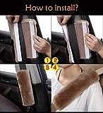 GIJITIF 4 Pack Car Seat Belt Pads Shoulder Cover