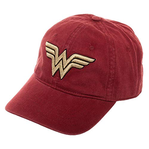 (Red Wonder Woman Dad Hat Cateonic Wonder Woman Snapback)