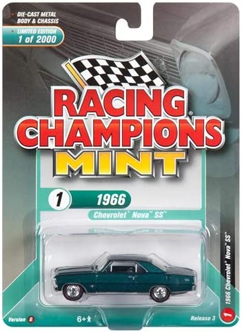 SET A OF 6 CARS 1//64 DIECAST BY RACING CHAMPIONS RC009 A 2018 MINT RELEASE 3
