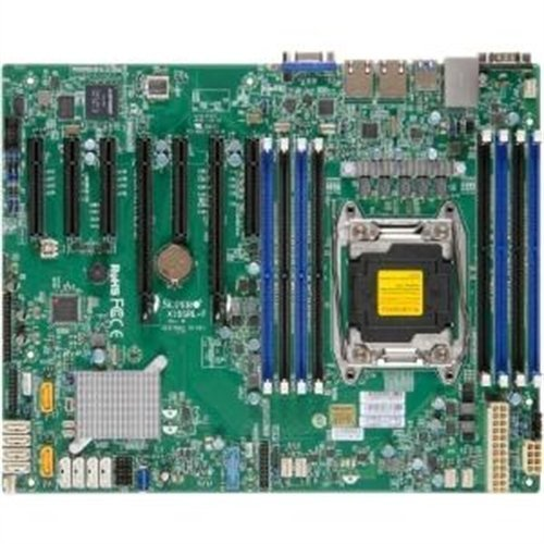 Supermicro X10SRL-F Server Motherboard - Intel C612 Chipset - Socket R3 (LGA2011-3) - Retail Pack MBD-X10SRL-F-O from Supermicro Computer, Inc