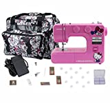 Janome 14412 Pink Hello Kitty Sewing Machine with Bonuspack!