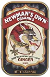 Newman's Own Organics Organic Ginger Mints, 1.76 oz, 6 ct