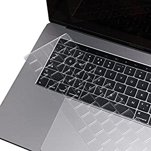"""Anyoneer 3 Pack Premium Ultra Thin Keyboard Protector for MacBook Pro with Touch Bar 13"""" or 15"""" (2016 Release, Apple Model Number A1706, A1707)"""