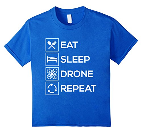 Eat Sleep Drone Repeat – Quadcopter Pilot T-Shirt