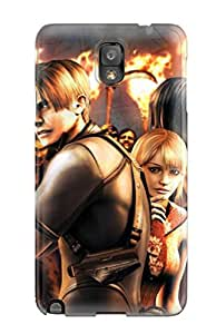 Stevenson Elizabeth's Shop Lovers Gifts High Quality Re4 Video Game Case For Galaxy Note 3 / Perfect Case 2687506K14102612