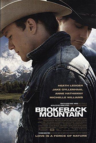 "Brokeback Mountain 2005 Reliable 27"" x 41"" Original Movie Poster Rolled Randy Quaid Drama U.S. One Sheet"