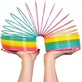 Tobar Giant Rainbow Coloured Springy Childrens Retro Classic Toy