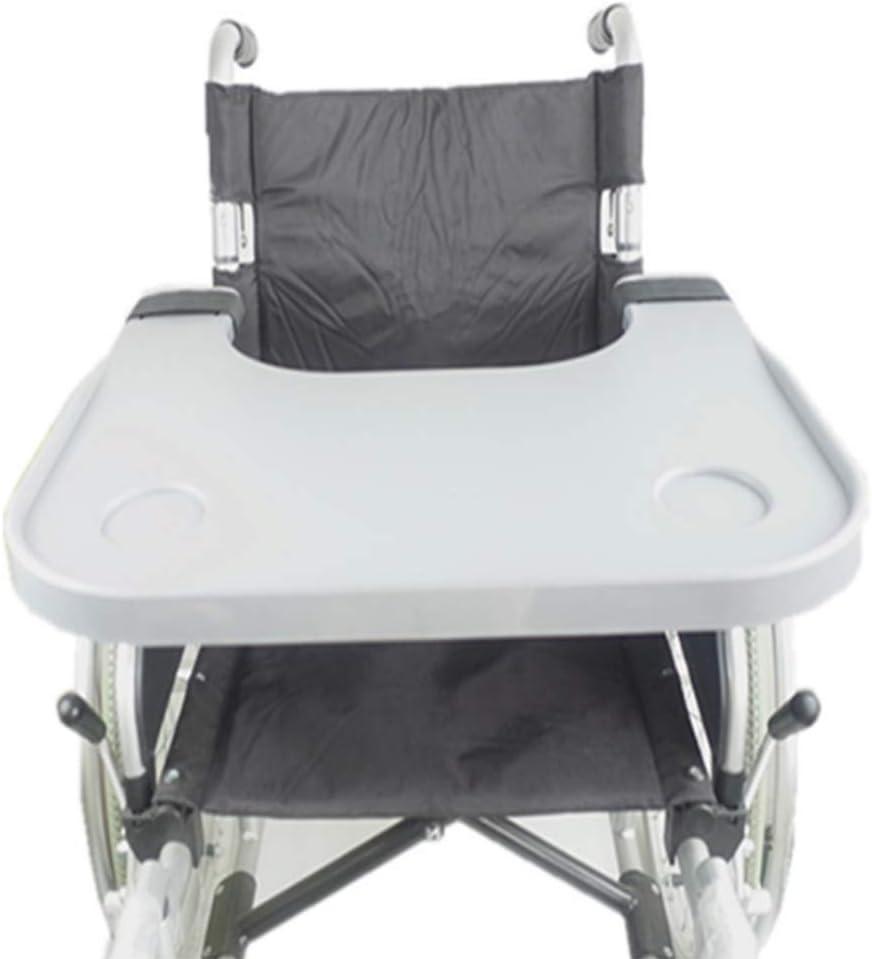 GLJY Accesorios médicos para Mesa de bandejas para sillas de Ruedas, bandejas universales aptas para sillas de Ruedas eléctricas o eléctricas