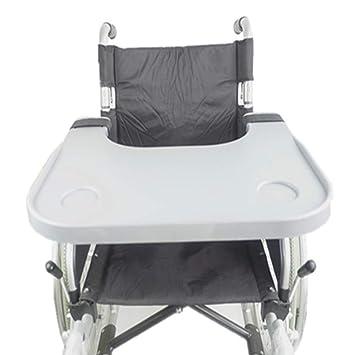 GLJY Accesorios médicos para Mesa de bandejas para sillas de Ruedas, bandejas universales aptas para sillas de Ruedas eléctricas o eléctricas: Amazon.es: ...
