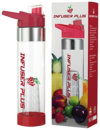 JLB Trends Infuser Plus Infusion Water Bottle, 24 oz