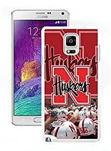 Ncaa Big Ten Conference Football Nebraska Cornhuskers 21 White Samsung Galaxy Note 4 Screen Cellphone Case Genuine and Fashion Design