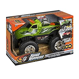 "Toy State Road Rippers Light and Sound 10"" Monster Truck: DinoRoar X4"