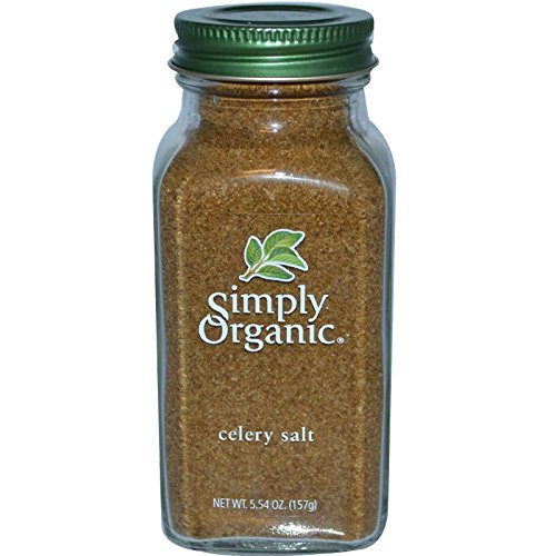 Simply Organic, Celery Salt, 5.54 oz (157 g) - 3PC by Simply Organic