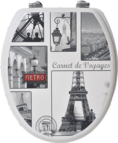 EVIDECO 410391 Elongated Toilet Seat VINTAGE PARIS with Z Toilet seat 17 x 14   Plumbing Fixtures   Compare Prices at Nextag. Toilet Seat 17 X 14. Home Design Ideas