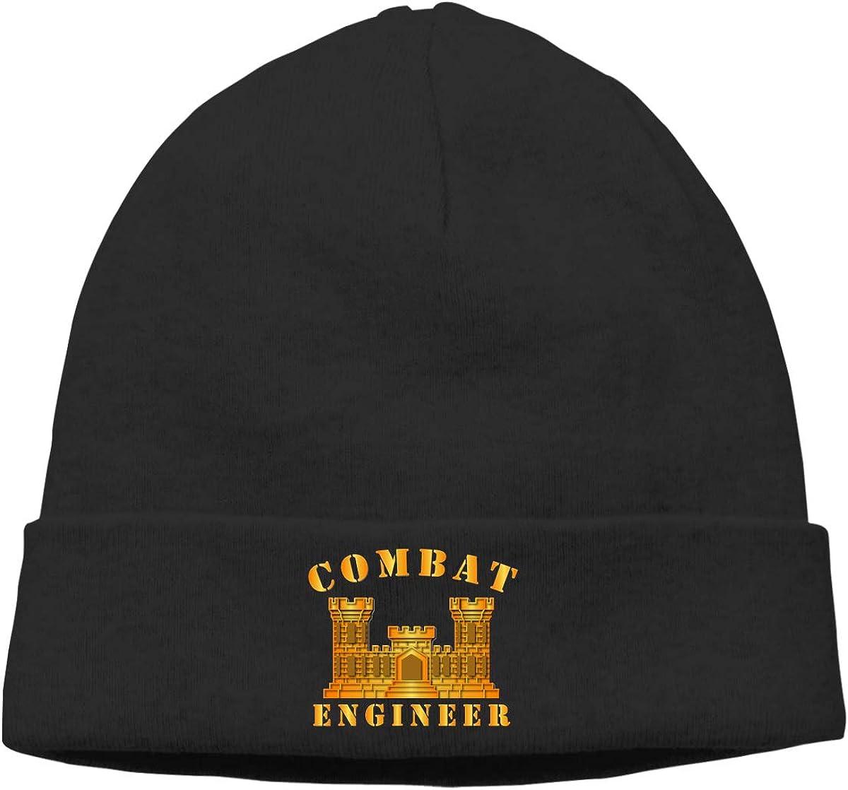 Lapptty Cap Combat Engineer Men Women Beanie Hat Knitted Beanie Knit Beanie