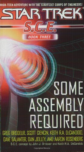 SCE Omnibus Book 3: Some Assembly Required (Star Trek: Starfleet Corp of Engineers)