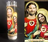 Mose Mary and Me A Star is Born Devotional Prayer Saint Candle- Lady Gaga + Bradley Cooper