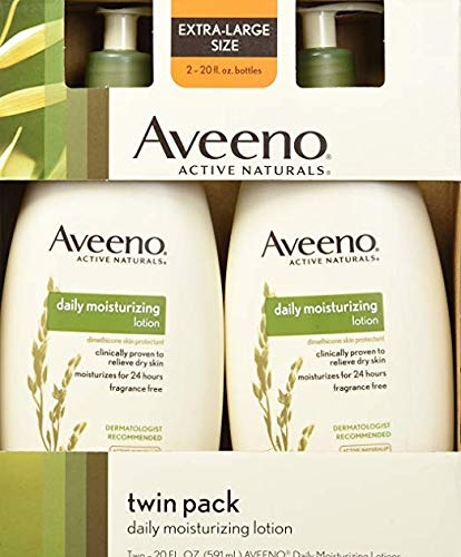 Fresh Scents Scented Body Wash - Aveeno Active Daily Moisturizing Lotion, Fragrance Free, 20 oz , Pack of 2 Pump Bottles