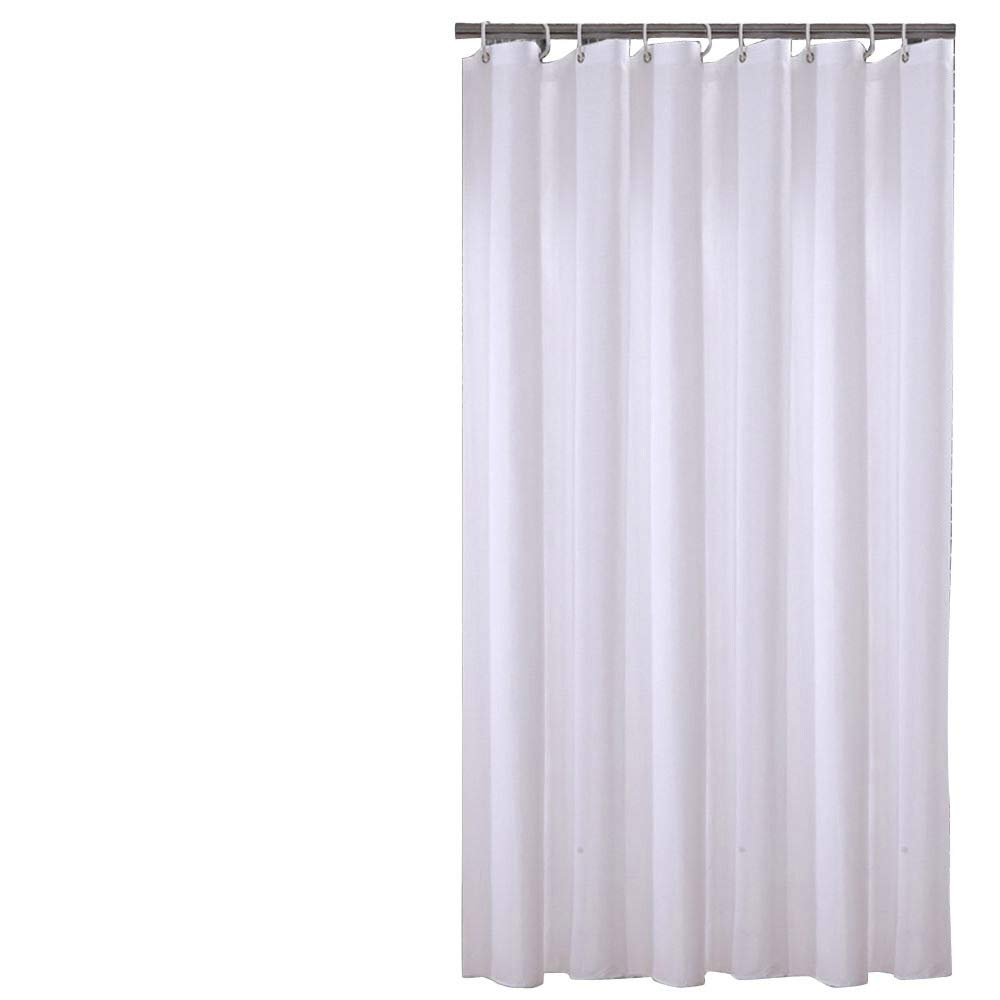 Amazon Sfoothome 36 Inch Wide X 72Inch Long Hotel Fabric Small Size Shower Curtain Waterproof And Mildew Free Bath Curtains Heavy Weight