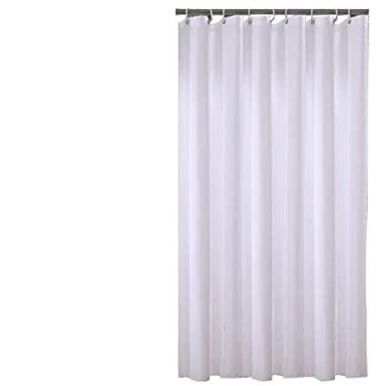 Sfoothome 72 Inch Wide X 78 Long Hotel Fabric Shower Curtain Waterproof And Mildew Free