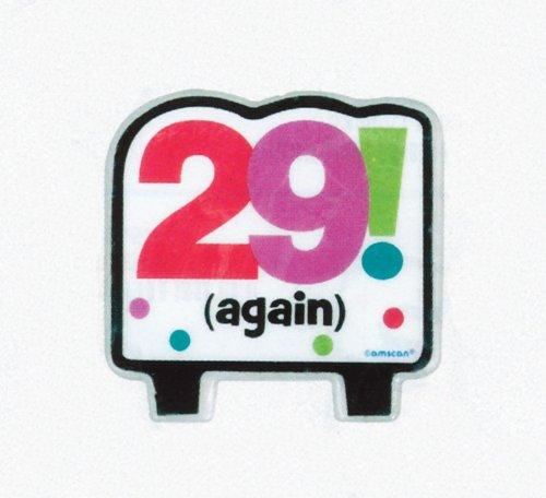 29 de nuevo cumpleaños para tartas vela: Amazon.es: Hogar