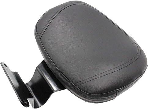 B Blesiya Motorcycle Driver Rider Leather Sponge Backrest Replacement for Honda VTX1300