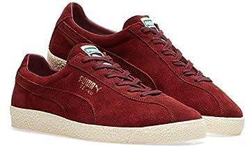 online store b268f 50183 Puma TE-KU Suede Trainers - Red-11: Amazon.co.uk: Sports ...
