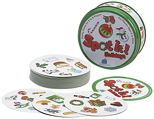 spot it learning center or classroom indoor recess Christmas game