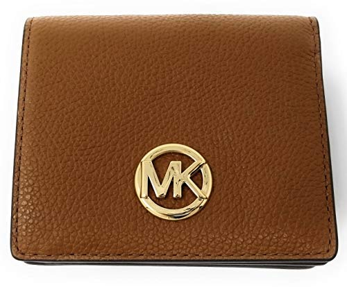 Michael Kors Fulton Carryall Card Case Small Wallet (Luggage) by Michael Kors
