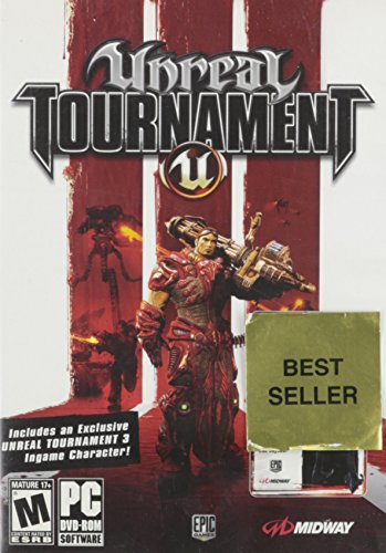 (Unreal Tournament 3 Special Version With Ingame Character)