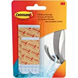 Tools & Hardware : Command Bath Water-Resistant Replacement Strips, White, 2-Medium, 4-Large Strips (17615B)