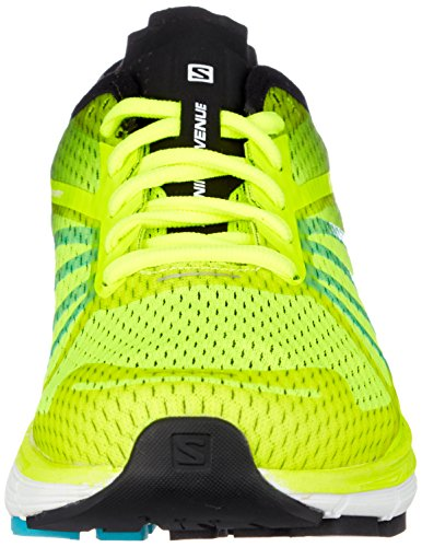 Salomon Sonic Ra Pro, Scarpe da Trail Running Uomo Giallo (Safety Yellow/Black/Bluebird 000)