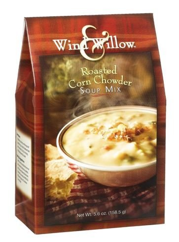 Wind & Willow Roasted Corn Chowder Soup Mix, 5.6-Ounce Boxes (Pack of 2)