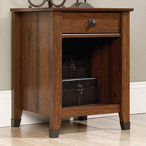 sauder-415050-washington-cherry-finish-carson-forge-night-stand