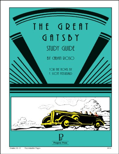 The Great Gatsby Study Guide