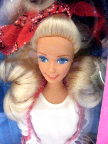 Trail Blazin Barbie in Western wear. 1991 M.K.L