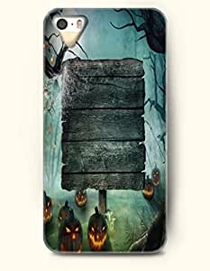 Halloween 31 October - OOFIT iPhone 4 4s Case Nameless Tomb And Pumpkin Lantern