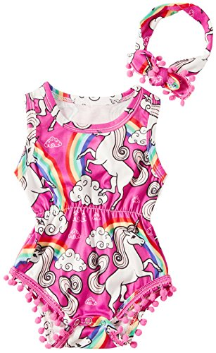 Unicorns & Rainbows Romper