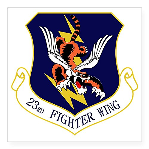 CafePress - 23Rd FW Flying Tigers Square Sticker 3