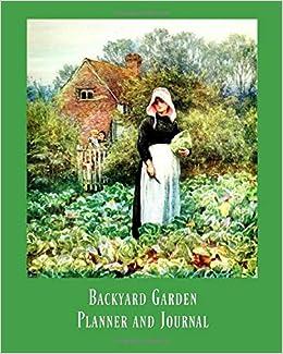 Backyard Garden Planner And Journal Art Print Large 8x10 Garden