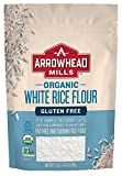 Arrowhead Mills Organic White Rice Flour, 24 Ounce (Pack of 6)