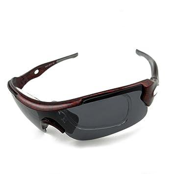 mccoutdoor Escalada Sport Gafas de sol lentes polarizadas Gafas Pesca de ocio equitación Cinco Kit de lente, b: Amazon.es: Deportes y aire libre