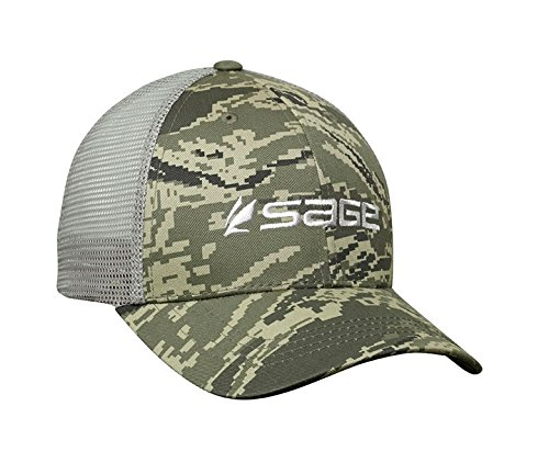 (Sage Men's Apparel Mesh Back Digi Camo, One Size Fits All )