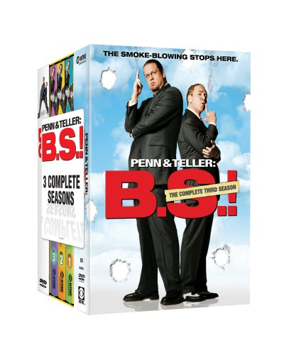 Penn & Teller - Bullsh*t - Three Season Pack (Penn And Teller The Best)